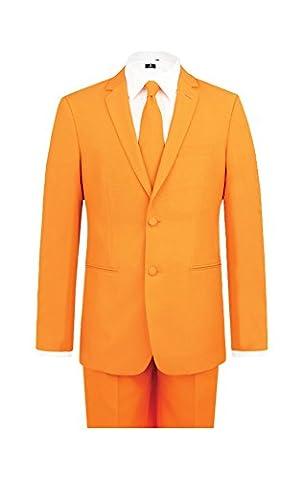 Costumes De Luxe Pour Homme Halloween - Costume orange-46