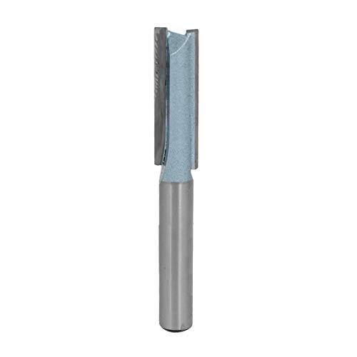 Double Flute Straight Router (ZCHXD 5/16-Inch Dia Carbide Double Flute Straight Router Bit with 1-1/50-Inch Length 1/4-Inch Shank)