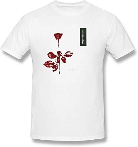 Camiseta de Manga Corta para Hombre Depeche Mode Violator Manga...