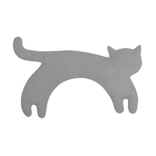 Leschi Wärmekissen Die Katze Minina stehend groß, Nebel/Mitternacht