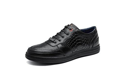 OPP Chaussures en Cuir Baskets Modèle Crocodile Pour Hommes