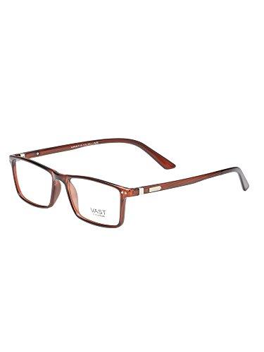 Vast Clear Glasses Rectangle Unisex Frame