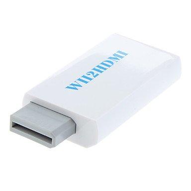 Kabel und Adapter wii 2 hdmi 1.3v Adapter Wii Anzeigemodi (NTSC 480i 480p, 576i PAL) Hdmi 1.3 V-kabel