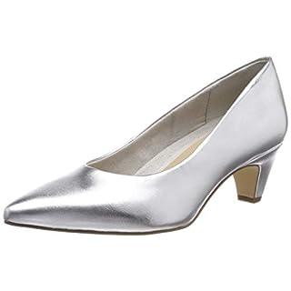 Tamaris Damen 1-1-22428-22 941 Pumps, Silber (Silver, 39 EU