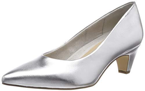 Tamaris Damen 1-1-22428-22 941 Pumps Silber (Silver 941)), 40 EU