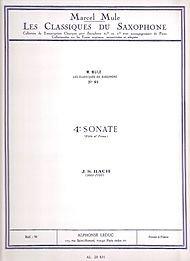 CLASSIQUE SAXOPHONE MIB N0091 SONATE N04...