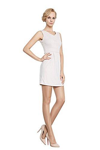 Collant elegante da donna, super sottile, calze attraente per donna, m/l, marrone chiaro