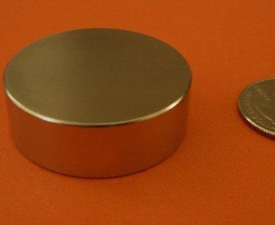 Super Strong N52Neodym-Magnet 3,8cm X 1/5,1cm Permanent Magnet Disc, die weltweit stärkste & Meisten Leistungsstark Rare Earth Magnete werden von Magneten