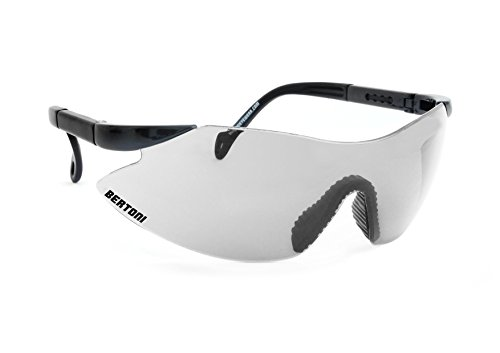 Ballistische Schutzbrille Schießbrille Anticrash und Antifog lens von Bertoni Italy - AF185S Sicherheitsbrillen