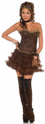 Steampunk Ideen Cosplay (Crinoline (Brown) Steampunk)