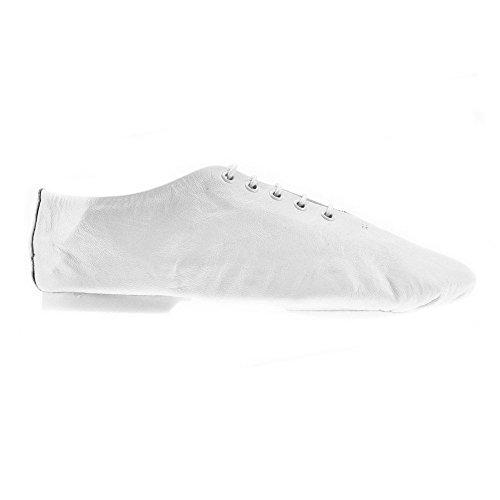 Starlite - Chaussures De Danse En Cuir Pour Les Femmes, Blanc, Taille 13 Enfants Au Royaume-uni