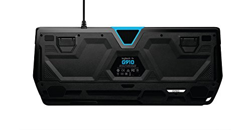 Logitech G910 Orion Spectrum Mechanische RGB-Gaming-Tastatur (QWERTZ, deutsches Layout) schwarz - 2