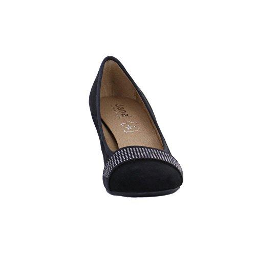 Jana Fashion 8-8-22203-20, Scarpe col tacco Donna Nero