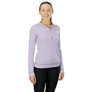 Alo Yoga Women's Half Zip Long Sleeve Hoodie