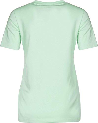 adidas Damen Trefoil T-Shirt, Blush Green, 44