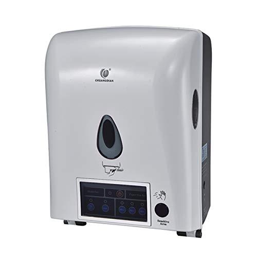 Anyer Induktionspapiermaschine Rollentyp Automatischer Papiereinzug Vollautomatische Induktionspapierbox Toilettenpapier High-End-Club Hotel Bürogebäude,B