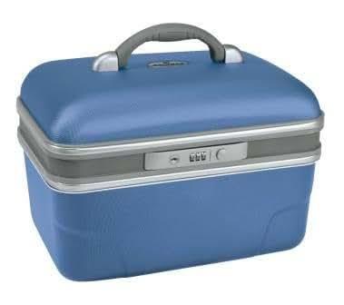 Savebag 19242 – Vanity rigide 34 cm – Capacité : 13 Litres - Bleu Lazuli