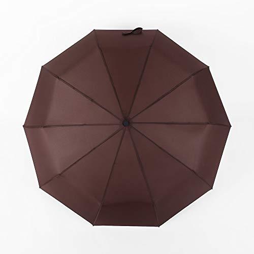 HMKLDFTY VollautomatischeSonnenschirmeHotBusiness UmbrellasSonnencremeWerbeschirmeCustom2 Pieces, Coffee