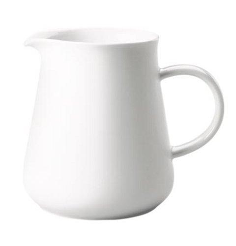 Kahla 391014A90039C Maxi-Krug, 1,50 L, Five Senses, weiß - Große Keramik Tee-kanne