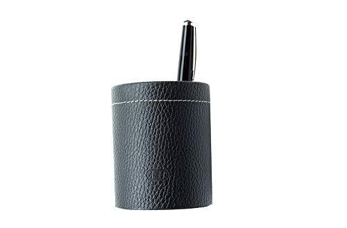 Stifteköcher PREMIUM LEDER SOFT GRAIN schwarz (genarbt) Premium-grain-leder