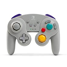 PowerA Wireless Officially Licensed GameCube Style Controller/Super Smash Bros. Grey