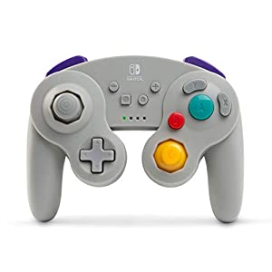 Kabelloser Controller für Nintendo Switch – GameCube-Stil Grau [ ]