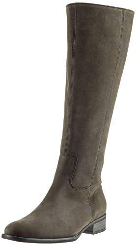 Fashion Stiefel (Gabor Shoes Damen Fashion Hohe Stiefel, Grau (Anthrazit(Glitter) 19), 44 EU)
