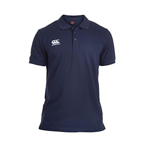 Canterbury Men's Waimak Polo Shirt-Navy/Red/White, Navy, 4X-Large