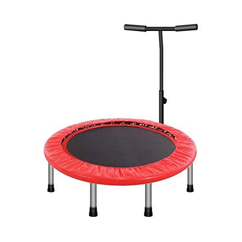 "Lcxghs 40""Trampolin Fitness mit verstellbarem Lenker Tragbares, leises Bounce Cardio Workout Indoor Outdoor"