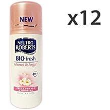 Set 12 ROBERTS Deo.stick biofresh monoi 40 ml. - Femenina desodorante y unisex