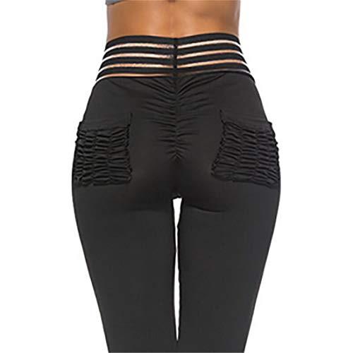 Globaltrade001 Mujer Push Up Leggins Fitness Pantalones