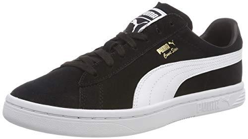 Puma COURT STAR FS, Unisex-Erwachsene Niedrig, Schwarz (Puma Black-Puma White 1), 40 EU (6.5 UK) -