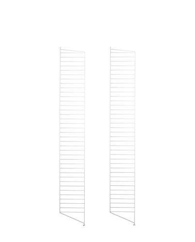 Unbekannt String - Bodenleiter für String Regal 200 x 30 cm (2er Set), weiß