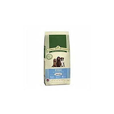 James Wellbeloved Complete Junior Dog Food with Fish and Rice (15kg)