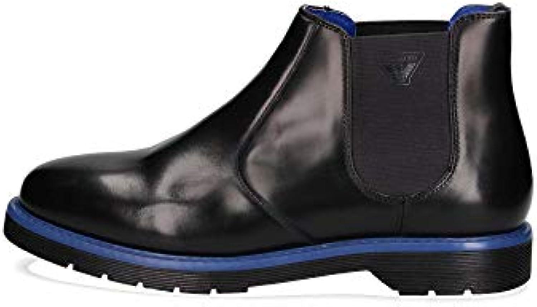 Donna  Uomo Armani Stivaletti Chelsea avvio Jeans Nero vantaggioso Aspetto piacevole bene | prendere in considerazione  | Sig/Sig Ra Scarpa