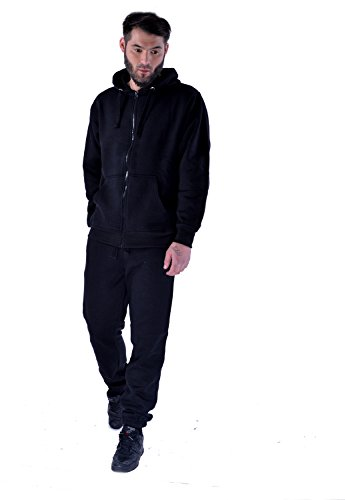 Mens Plain Everyday Casual Gym Workout Tracksuit Jog Pants & Hoodie - Schattierungen Nike