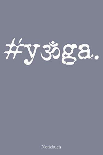 Notizbuch: Yoga Symbol | Für Ideen, Gedanken & Übungen | Einfach mal loslassen | 105 punktierte Seiten | Format ca. A5 |