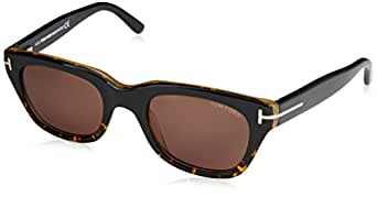 Diagonal Eyewear Sunglasses Ft0237 Black, 50