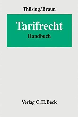 Tarifrecht: Handbuch