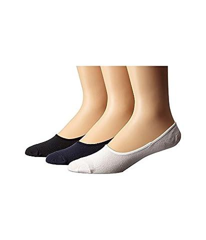 Sperry Top-Sider Men's Canoe Liner Solid 3-Pack Classic Navy Socks Men's 10-13