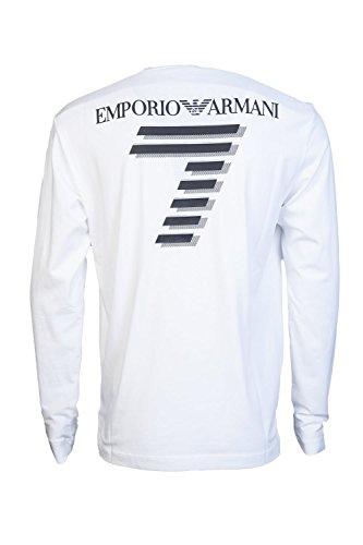 Emporio Armani Herren T-Shirt blau navy Weiß