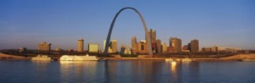 The Poster Corp Panoramic Images - St. Louis Skyline Photo Print (45,72 x 15,24 cm) (St Louis Skyline Poster)