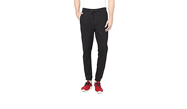 6c0aa932f35 Allen Solly Men s Joggers (8907587421964 ATKB317S02363 Black 86)   Amazon.in  Clothing   Accessories