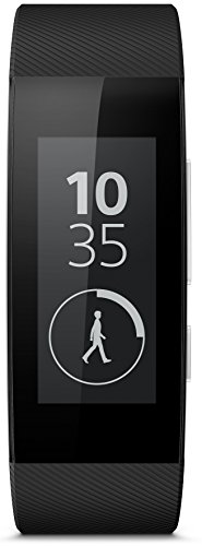Sony Mobile SWR30 SmartBand Talk Fitness and Activity Tracker Wristband Compatible with Android 4.4+ Smartphones - Black