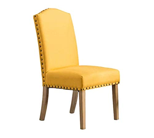 Lakdi-The Furniture Co. Beautifully Wooden Dining Chair (MFN-161856131_Yellow)