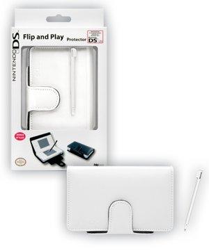 BigBen Interactive bb267150White Flip & Play Protector + Stylus, Zubehörset für Nintendo DS