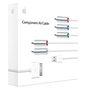 Apple Component AV Cable (30-pin dock connector to component AV / USB)