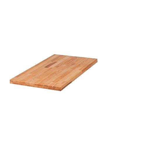 SAM® Ansteckplatte für Tisch Horst aus Kernbuche 45 x 90 cm 1