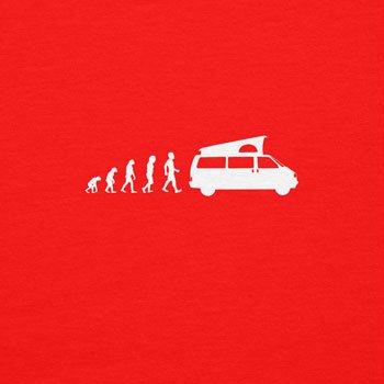 TEXLAB - California Evolution - Langarm T-Shirt Rot