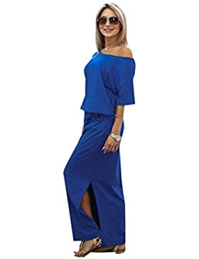 Vestidos Largos Mujer ❤️ Amlaiworld Vestido de Fiesta de Verano Largo Maxi Boho de Mujeres con el Bolsillo Vestidos...